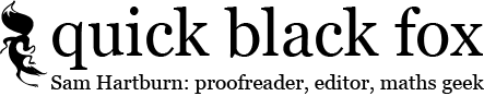 Quick Black Fox Proofreading